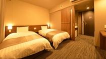 ◆禁煙◆ツインルーム 22平米 シモンズ社製 ベッド120×195センチ
