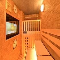 ◆大浴場高温サウナ テレビ付き