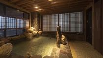 【男性】岩風呂(湯温:41~42℃)