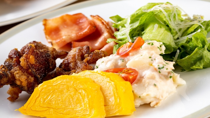 【朝食付】30日前までの早期割引プラン<なごやめしの和洋朝食付> さき楽