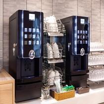 【朝食】コーヒーマシン