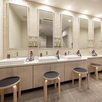 【大浴場】女性用ドレッサールーム