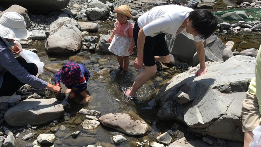・忘れられない夏の思い出を♪家族で楽しく川遊び