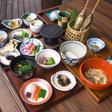 【平日限定 初夏の和食御膳】 旬の食材使った田舎料理 一泊二食付き