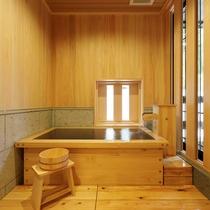 【檜風呂+テラス付き】スタンダード洋室ツイン / フローリング床のスタンダードタイプ客室。