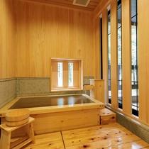 【檜風呂+テラス付き】スタンダード和室ツイン/ 和ベッドのあるスタンダードタイプの客室。