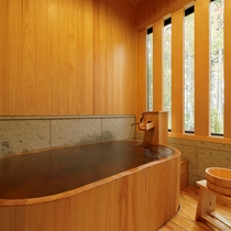 【檜風呂+テラス付き】寛ぎ和室&和室ツインルーム / 広々とした畳敷きの和風客室。