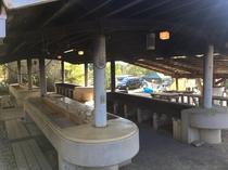 キャンプ場 炊事場