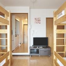 ◆二段ベッド×2台(4名様までご利用頂けます)