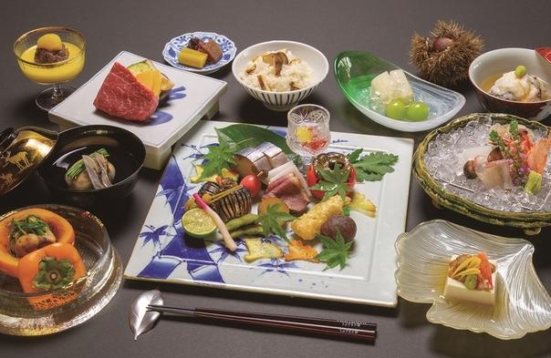 <竹林月夜> 夕食は贅の限りを尽くした本格会席料理