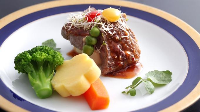【グルメ会席】『国産牛ステーキ・阿波尾鶏・鮎の塩焼き』<ボリューム・質 重視>のグレードUPプラン