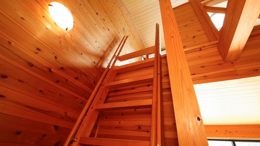 【コテージ4名定員】ロフト(急な階段を上って寝室に入りますので、ご予約の際は十分ご確認下さい)
