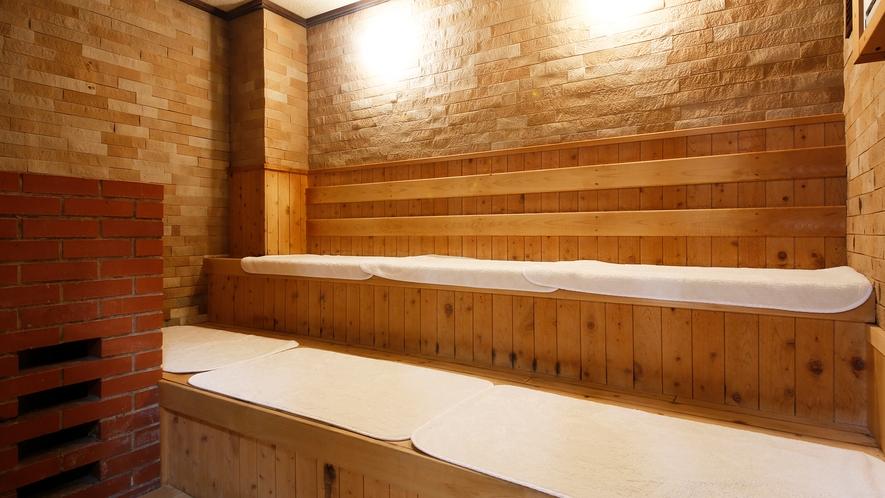 【サウナ】大浴場内にはサウナも完備!汗を流す心地よさを体感♪
