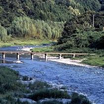 【周辺観光】穴吹川。剣山を源流として、吉野川にそそぐ一級河川
