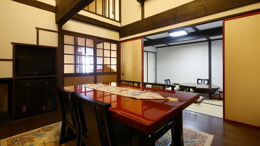 """【雅】明治時代の""""蔵""""をリニューアル、離れ風客室。まるで""""隠れ家""""のような、貴方だけの空間。"""