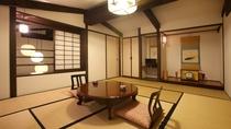 【蔵メゾネット】和室二間+リビングルーム。2階の10畳和室。