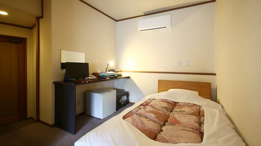 【シングルおまかせ】お一人様専用のコンパクトなお部屋。和洋室イメージ。