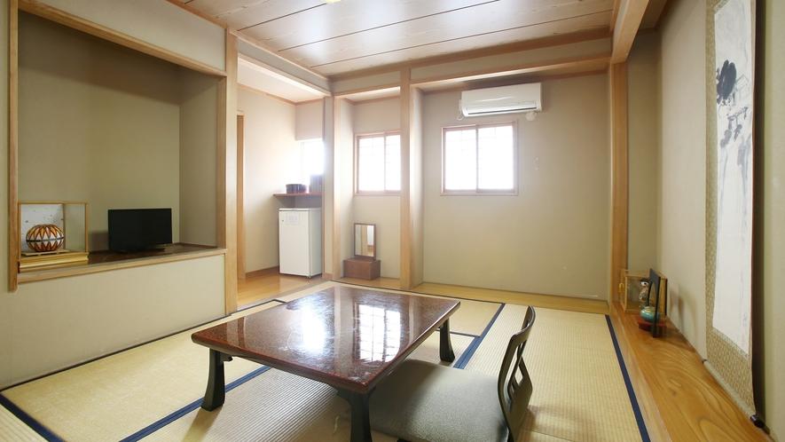 【シングルおまかせ】お一人様専用のコンパクトなお部屋。和室イメージ。