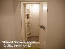 共用のシャワー(ボディソープ・リンスインシャンプー有り)
