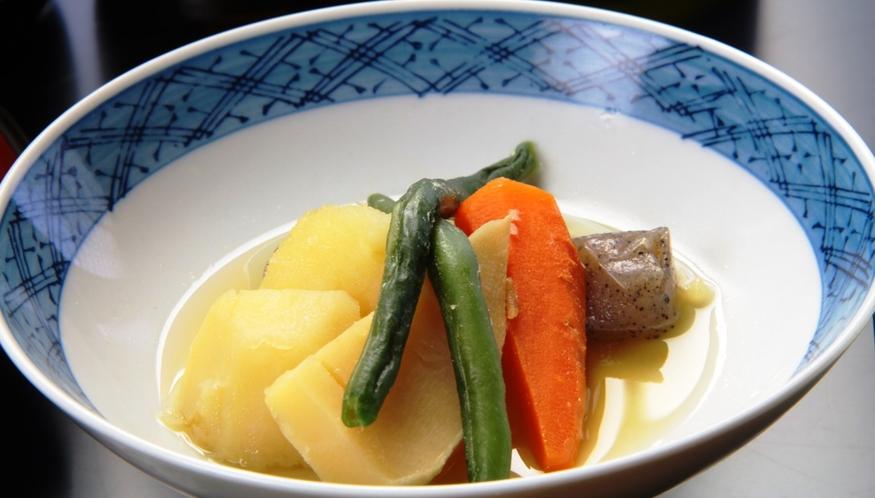 【夕食】本日の煮物