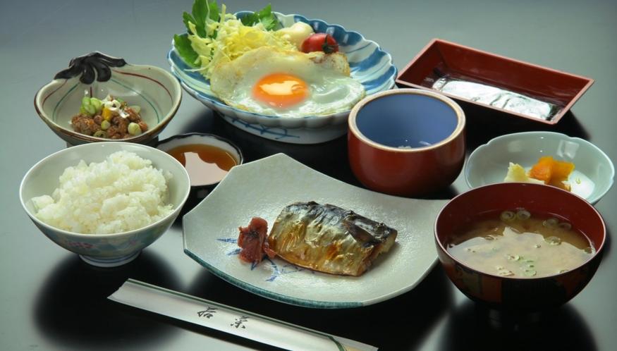 【朝食】全体の一例です