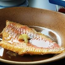 【夕食】煮魚
