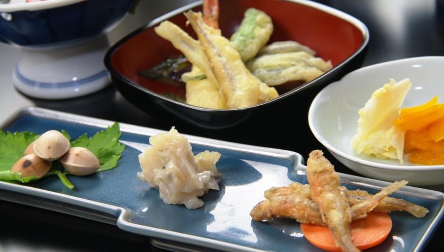 【夕食】前菜&揚げ物
