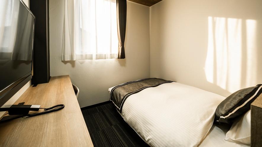 ◇セミダブルルーム◇1名利用 ベッド幅:120cm