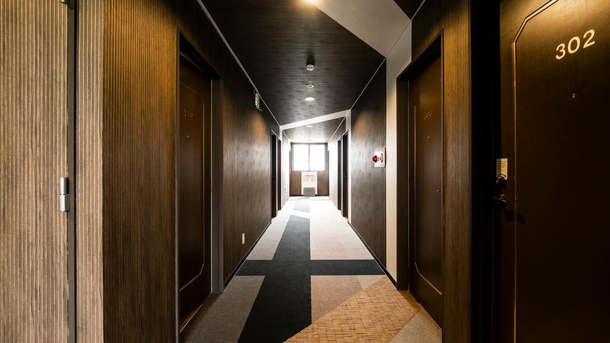ホテル廊下2
