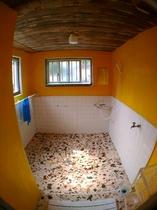 男女共用シャワールーム