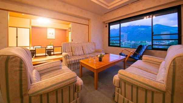 ◆スイート 由布岳ビュー◆1番ステキな湯布院を〈79平米〉