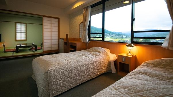 """【和洋室】おやすみは""""ベッド派""""の方に最適〈24〜28平米〉"""