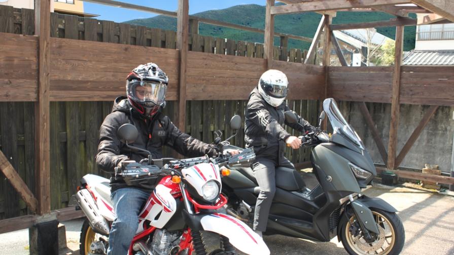 ◆ライダー応援◆バイクで風を切って由布を駆ける——『屋根付き駐輪場』がOPEN!【2食付】