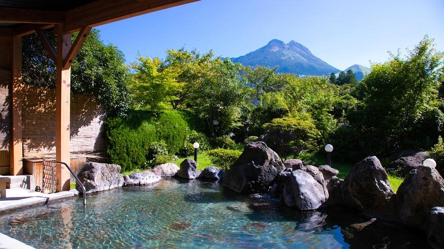 温泉大浴場『ゆふの湯』露天風呂