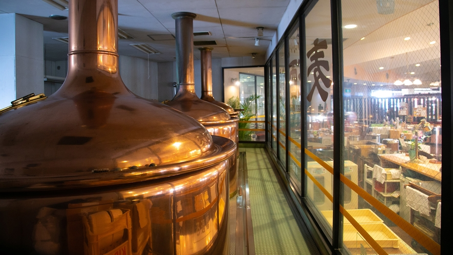 ゆふいん麦酒館 ビール工場