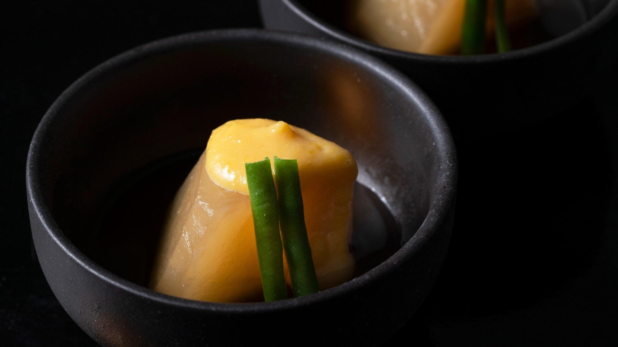 2020年12月〜 : 炊合(丸大根柚子味噌掛け)