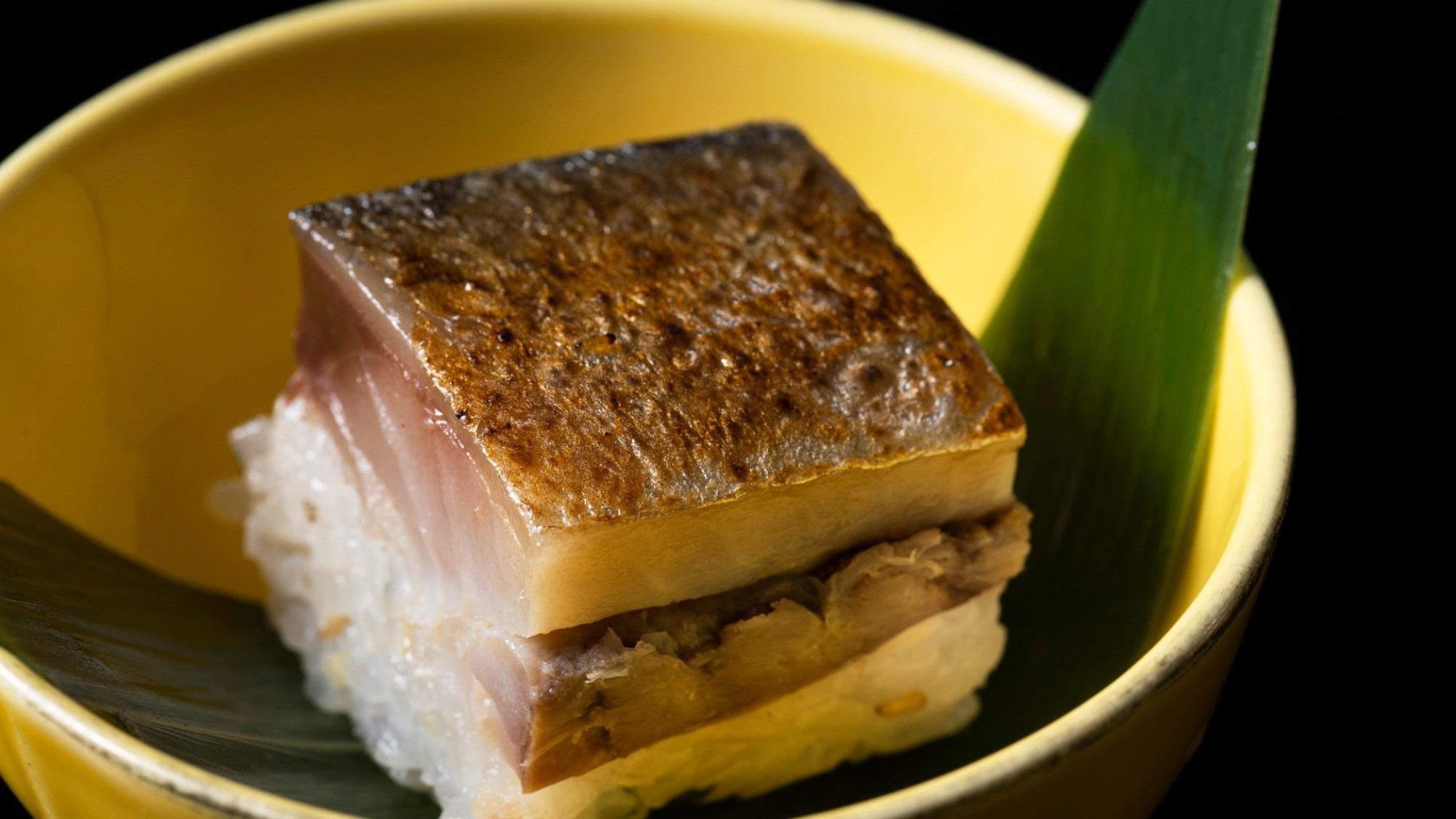 2020年12月〜:焼き鯖棒寿司
