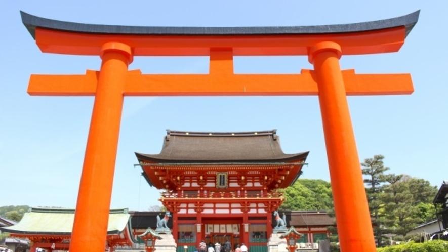 【伏見区】伏見稲荷大社は世界で1番知られている日本の観光スポット。通称「お稲荷さん」