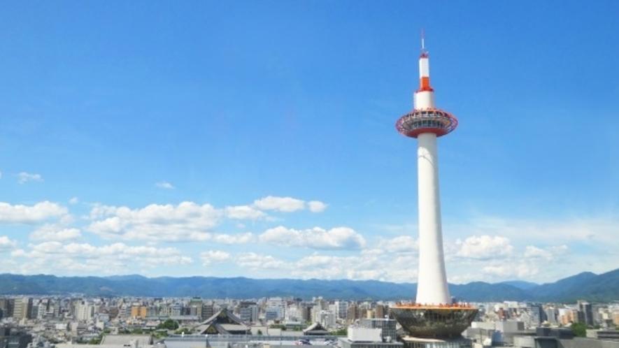 【京都駅前】京都のシンボル京都タワー