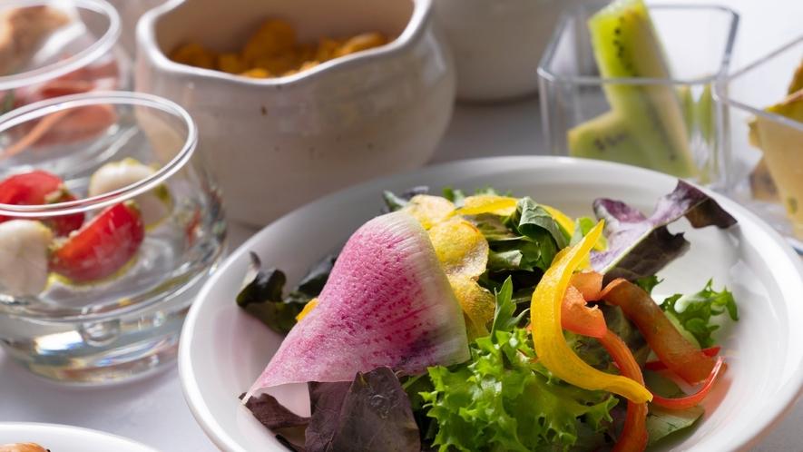 【朝食】サラダパナッシェ