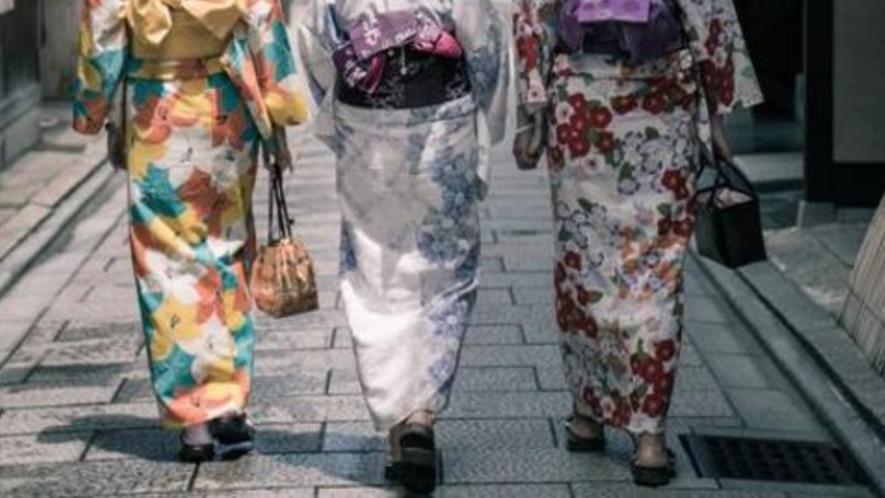 【京都市内】浴衣や着物をレンタルして、京都観光を楽しんでみませんか?