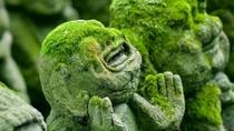 【嵐山】愛宕念仏寺(おたぎねんぶつじ)には様々な表情の阿羅漢(あらかん)様がいます