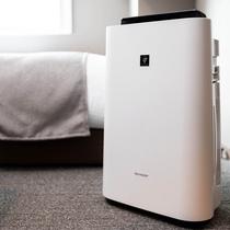 [客室]加湿器付き空気清浄機