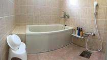 コンドミニアムタイプの部屋の浴室
