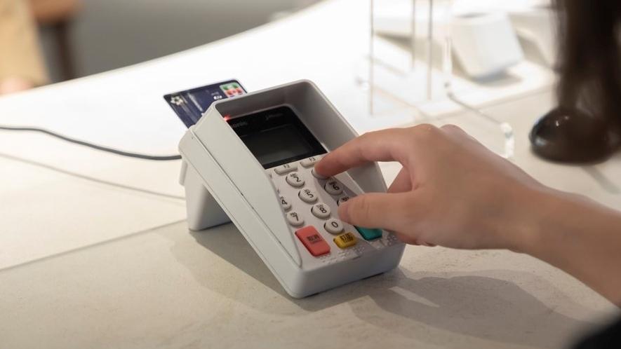 接触機会低減の為、クレジットカード決済を推奨いたします