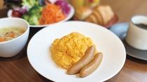 朝食セット(卵料理)