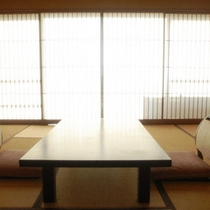◇【和室10〜12畳】イメージ(卓と障子)