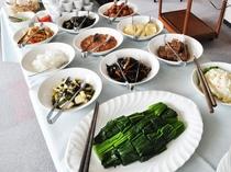 【ご朝食】和食のおかずを豊富にご用意しております