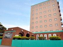【外観】北海道根室市のビジネスホテル「イーストハーバーホテル」へようこそ。