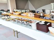 【朝食】朝食はバイキングでご用意しております(定食となる日もございます)